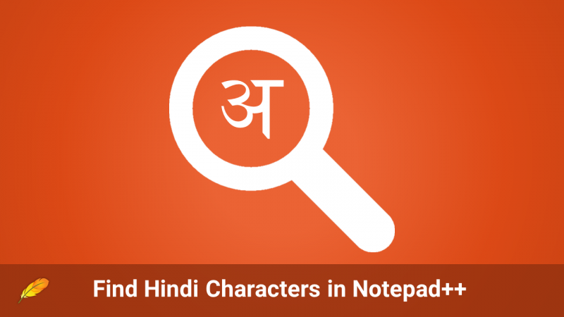 Find Hindi Characters using RegEx